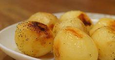 Tejben sült fűszeres burgonya, ha unod az olajban sült variációt, ezt próbáld ki! Hungarian Recipes, Ham, Mashed Potatoes, Food And Drink, Bacon, Eggs, Vegetables, Cooking, Breakfast