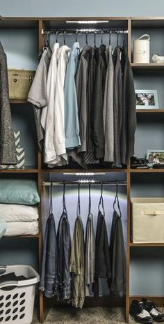 The Whalen Storage 174 Closet Organization System Is An Ideal