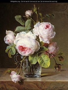 old English roses picture