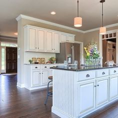 2015 #Harrisburg #ParadeOfHomes! The #Kitchen in the #Ariel model - our entry at 1525 Zestar Drive, #Mechanicsburg in #OrchardGlen.