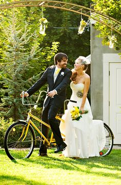 Do you want to bike to your wedding?
