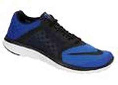 NIKE mens FS Lite Run II 685266 041 Black Blue Sneakers Shoes