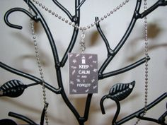 Doctor Who Silence Tally Marks Necklace by BadWolfStudio on Etsy, $12.99