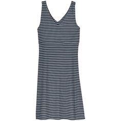 763a05c164a Athleta Stripe Santorini 2 Dress - Black  granite grey from Athleta on  Catalog Spree Santorini
