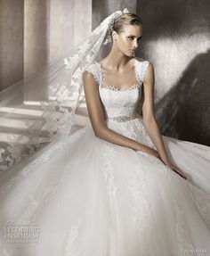 Pronovias 2012 Advance Bridal Collection — Wedding Dresses from Costura & Fashion Collections | Wedding Inspirasi