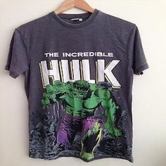 Primark Mens Official The Incredible Hulk T Shirt #marvel #hulk #shirt