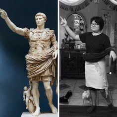 How creative is Kelly L. posing as Augustus of Prima Porta!  Want to see more? Head to celebrityscholarship.com/gallery . . #impersonation #celeblookalike #celeb #celebrity #scholarship #college #highschool #students #dress #creativity #creative #sculpture #pretty #girl #win #apply #makeup #costume #cosplay #celebscholarship #fashion #debtfree #funny #collegebound #collegelife #fall #toga #lookalike #statue #augustusofprimaporta