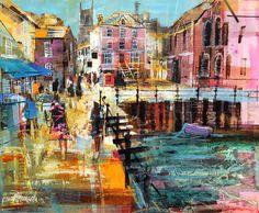 009 Town Quay Fowey 14x17
