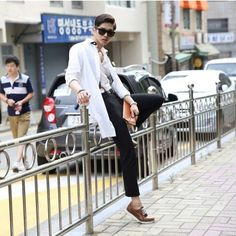 Nice everyday outfit #look #outfit #male #korean