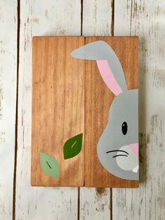 Easy Canvas Painting, Painting On Wood, Baby Decor, Kids Decor, Wall Stickers Ocean, Wood Nursery, Kid Bathroom Decor, Woodland Forest, Forest Animals