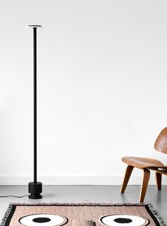 Calcite is a collection of minimal pendant and floor lamps created by London-based designer Romain Voulet. Ligne Roset, Lighting Design, Floor Lamp, Light Up, Minimalism, Furniture Design, Design Inspiration, Product Design, Flooring