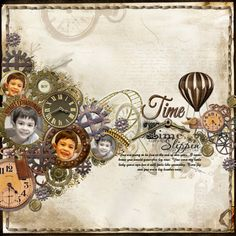 @ Zatul. Steampunk: Where the future meets the past! : Scrapbookgraphics – Digital Scrapbooking