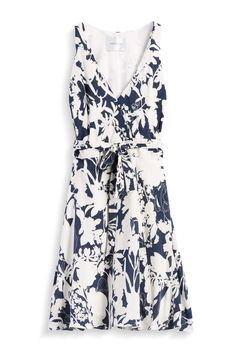 Amour Vert Navy Blue and white floral dress - Stitch Fix Style Quiz