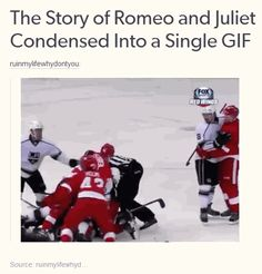The story of Romeo and Juliet Condensed Into a Single Gif, via The Best of Tumblr / Facebook
