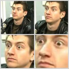 When you realise how obsessed you are with Arctic Monkeys