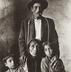 Irving Penn, Gypsy Family, 1966 on ArtStack #irving-penn #art