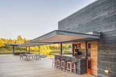 A Modern Boathouse by Weiss Architecture & Urbanism Limited