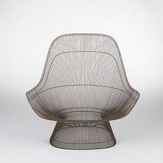 Warren Platner, Prototype Lounge Chair, 1963.