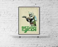 STAR WARS Inspired A Return Of The Jedi Movie by BaydleCreative