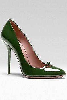Gucci - Women's Shoes - 2013 Pre-Fall...yum-yum!