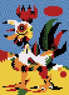 Le Coq (Joan Miro)