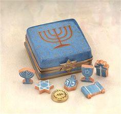 Limoges Hanukah Cookies Box The Cottage Shop