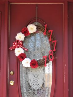 Valentine's Day Wreath by Me
