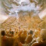Mount Sinai Giving of the Ten Comandments