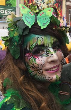 Face Painting Flowers, Wildest Fantasy, Up Costumes, Face Paintings, Roller Derby, Diy Painting, Cornwall, Valencia, Henna