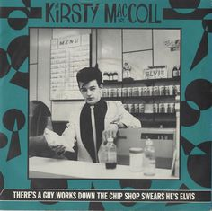 "For Sale - Kirsty MacColl There's A Guy Works Down The Chip Shop UK  7"" vinyl single (7 inch record) - See this and 250,000 other rare & vintage vinyl records, singles, LPs & CDs at http://eil.com"