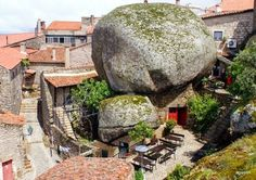 #10. The town of Monsanto, Portugal - 19 Secret Travel Destinations You Never Knew Existed… Almost Nobody Knows About #17.