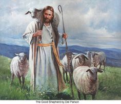 """Thus says the Lord God, """"Behold, I Myself will search for My sheep and seek them out. As a shepherd cares for his herd in the day when he is among his scattered sheep, so I will care for My sheep and will deliver them from all the places to which they were scattered. ... I will feed My flock and I will lead them to rest,"""" declares the Lord God.  """"I will seek the lost, bring back the scattered, bind up the broken and strengthen the sick ..."""" (Ezekial 34)"""