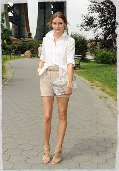 Olivia Palermo wearing Aquazzura Sexy Thing Suede Cutout Sandals in Nude and Olivia + Joy Regards Small Shoulder Bag in Python.