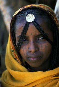 Africa   Young Rashaida woman. Eritrea   ©Bruno Morandi
