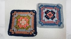Square relevo - crochê - YouTube Grannies Crochet, Pot Holders, Diy And Crafts, Balloons, Granny Squares, Instagram, Youtube, Crochet Ideas, Doll Outfits