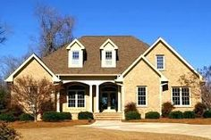 Raleigh NC New Homes: Communities, Lots and Land in the Triangle: Johnson Place II - Half Acre Lots and All Brick Homes in Johnston County My Home Design, Modern Design, House Design, Bricks, Custom Homes, My House, Building A House, Beautiful Homes, Architecture Design