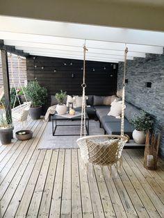Backyard Patio Designs, Modern Backyard, Pergola Patio, House Arch Design, House Extension Design, Small Balcony Decor, Outdoor Living, Balcony, New Houses
