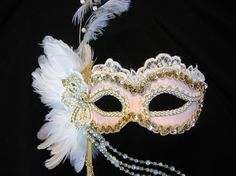 Marie Antoinette Inspired - I'd love to go to a masquerade ball :D