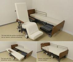 Conheçam a cama robótica que se transforma em cadeira de rodas motorizada | Portal PcD On-Line