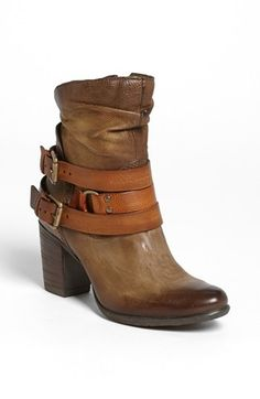I have an obsession with useless buckles.    MJUS 'Mack' Bootie available at #Nordstrom