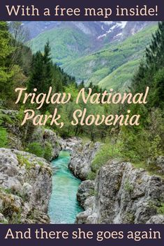 Triglav national park, Slovenia: a treat for your eyes and heart! - And there she goes again : Top 15 things to do in Triglav national park, the only national park in Slovenia which is also home to stunning lakes, valleys, waterfalls and mountains. Travel Tips For Europe, Travel Destinations, Traveling Europe, Travelling, European Destination, European Travel, Europa Tour, Slovenia Travel, Bohinj