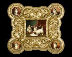 Jules LeRoy, Famille de Chats @artsy