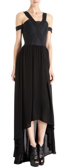 Boy. by Band of Outsiders Asymmetric Cocktail Dress