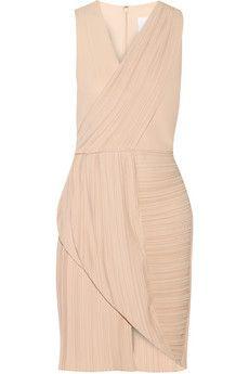 Dion Lee Wrap-effect plissé-crepe dress | NET-A-PORTER
