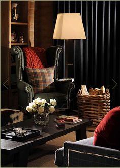 interior, english style - gentleman inspiration