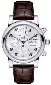 NEW MONTBLANC STAR CHRONOGRAPH AUTOMATIC MENS WATCH 106466