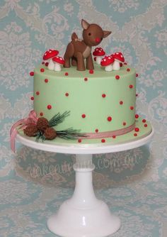 ) Christmas cake EVER! Cake Wrecks - Home Cupcakes, Cupcake Cakes, Christmas Cake Decorations, Holiday Cakes, Christmas Goodies, Christmas Treats, Christmas Cakes, Pretty Cakes, Beautiful Cakes