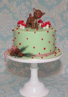 Rudolph's cake