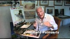 aquarelle Roland Palmaerts - YouTube
