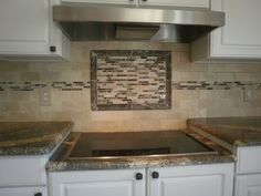 """""""Travertine with Inlaid Rectangular Mosaic Tiles"""" At DeStefano Remodeling in North Texas we desire to be your full service contractor on your next project. Visit our website www.destefano.co/ to see some of our completed custom projects and our Pinterest page pinterest.com/... where we have a library of pictures to help you get inspired for your next residential or commercial project."""